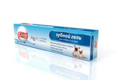 Зубной гель для собак
